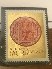 1965 Universitat Wien S3 Comm. Stamp #20497