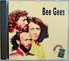 """BEE GEES - RARE FRANCE ONLY CD """"ORIGINAL POP HISTORY"""""""