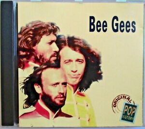 "BEE GEES - RARE FRANCE ONLY CD ""ORIGINAL POP HISTORY"""
