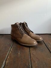 Viberg Natural Chromexcel Service Boot, Size 10.5, Barely Worn