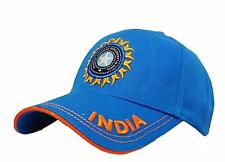 Cotton Sports Casual Cricket Cap Team India ODI T20 IPL Supporter Free Size
