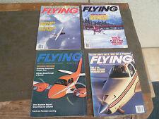LOT DE 9 MAGAZINES FLYING  AVIATION MAGAZINE BON ETAT ENGLISH