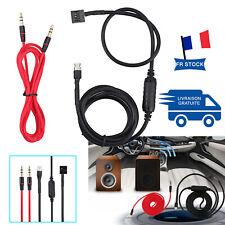 Cable adaptateur aux auxiliaire 3.5mm autoradio pour BMW E46 piece connection