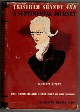 Tristram Shandy and A Sentimental Journey by Laurence Sterne (Modern Library)