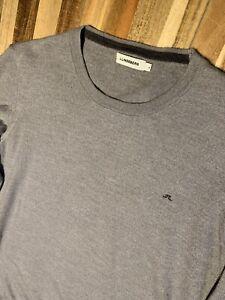 J.Lindeberg Crew Neck Wool Golf Jumper Sweater - Grey - Large