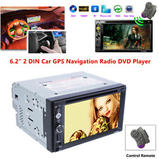 6.2Inch Car MP5 DVD Player GPS Navigation Radio 2 DIN Stereo Touch Screen USB/TF