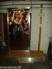 Michael Kors Extra Large Retail Display Sign W/ Display Base