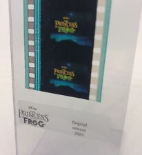 Disney Animation Authentic Film 5-Cell Strip PRINCESS & THE FROG Title Frame