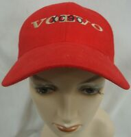 VOLVO XC90 RED BALL CAP HAT ONE SIZE FITS ALL EUC