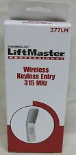 NIB Lift Master Model 377LM Wireless Keyless Entry System Keypad Garage Door 315