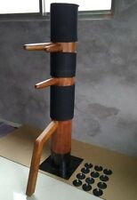 WingChun Mind Mook Jong, wooden dummy,Muk Yan Jong made of Solild  elm wood