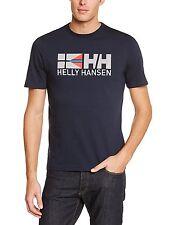 SALE New Men's Helly Hansen Navy Jotun Graphic Logo Tee, T Shirt, Sz S