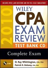 Wiley CPA Exam Review 2010 Test Bank CD - Complete Set New Seales