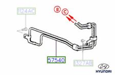 Genuine Hyundai Coupe 1997 - 2000 Power Steering Pipe - 5754027020