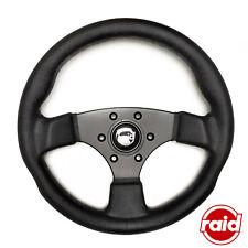 RAID Sportlenkrad Modell 50 schwarz 360mm mit ABE für diverse Fahrzeuge Typ 10