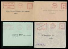 GOLD COAST METER FRANKING 4 ENVELOPES 1/2d 2d 1/3 ALL 1955 VERY FINE 3 TYPES