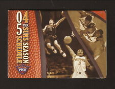 Phoenix Suns--Steve Nash--Stephon Marbury--2003-04 Pocket Schedule--KTAR