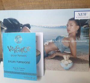 Versace Pour Femme Dylan Turquoise Eau de Toilette EDT Sample