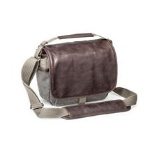 Think Tank Photo Retrospective 5 Small Leather Canvas DSLR Camera Messenger Bag