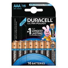 Duracell Ultra Power Typ AAA Alkaline Batterien 16er Pack