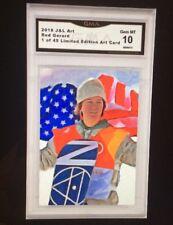 2018 Red Gerard Art Card /49 Olympics ACEO Gem MT 10
