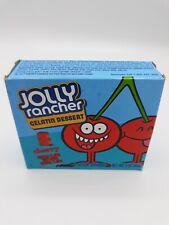 Jolly Rancher Cherry Gelatin Dessert Jello Mix 4 Pack