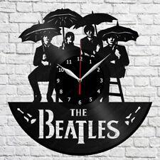 """The Beatles Vinyl Record Wall Clock Home Decor Fun Art Decor 12"""" 30cm 352"""
