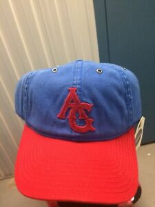 Chicago American Giants Negro Leagues Cap Hat 1934 Blue Marlin