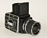 Mittelformat-Kamera - Rolleiflex SL66 with Carl Zeiss Distgagon 4/80