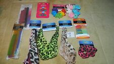 LOT~ELASTIC HEADBANDS~HEADWRAPS~ BASIC SOLUTIONS~#3