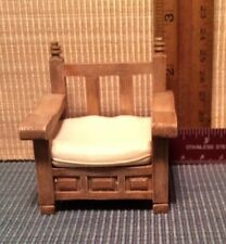 dollhouse miniatures 1:12 Take A Seat Patio Chair 1990 Nos