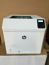 NEARLY NEW HP LASERJET ENTERPRISE M605N ONLY 339 TOTAL PRINTOUTS WITH NEW TONER