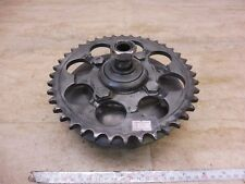 1973 Yamaha RD350 RD 350 Y311-2> rear wheel sprocket and carrier