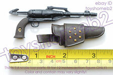 1:6 scale HOT TOYS MMS222 SPACE PIRATE Captain Harlock PISTOL with HOLSTER