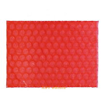 """20 Red ANTI Static Air Bubble Envelopes Packing Bags 3"""" x 5""""_80 x 125mm_Open Top"""