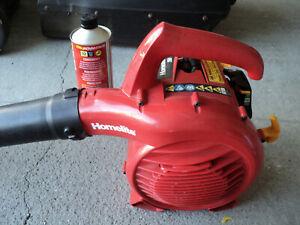 Homelite gas leave blower 175mph