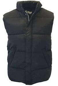 Mens Bodywarmer Gilet Quilted Padded Sleeveless Jacket Outdoor Coat size XS-2XL