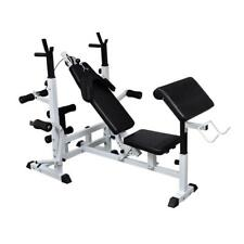 Multi Fitness Station Weigth Bench Machine Exercise Workout Home Gym Equipment