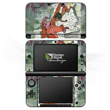 Nintendo 3 DS XL Folie Aufkleber Skin - King Louie