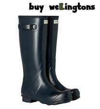 WAREHOUSE SALE New Ladies Hunter Field Wellies Wellington Boots Navy Blue Size 6