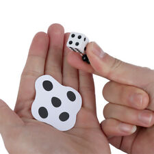 Playing Flat Braid Magic Toy Dice Disappearing Magic Props Lovely Kids Gifts