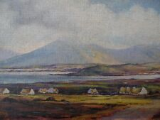 Achill Island Irish Landscape. Small Oil by Pat Greeves