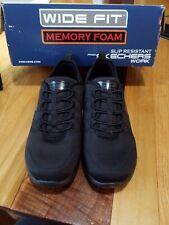 Skechers Work Black 5.5 W Shoes Women Memory Foam Work Slip Resistant 77211