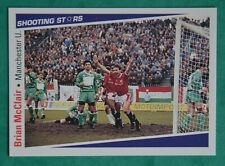 MERLIN SHOOTING STARES 1991-92  BRIAN McCLAIR  -  MANCHESTER UNITED   No 164