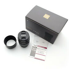 NEW Voigtlander Nokton 42.5mm F/0.95 lens Black for M43 4/3 Micro Four Thirds