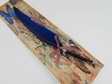 Harry Potter Inspired Blue Feather Ink Fountain Calligraphy Pen