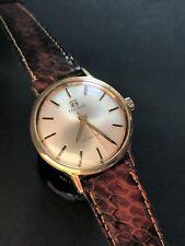 Vintage Tissot Seastar 781-1 Manual Gold Plated Mens Watch 33,5mm