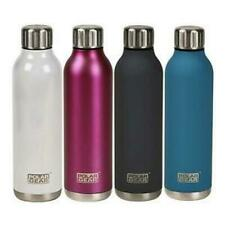 Stainless Steel Hot Cold Water Bottle -Insulated Metal Sport & Gym Drinks Flask
