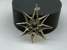 SWAROVSKI Figurine Christmas Star 2009 Golden Top Condition