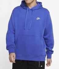NEW Nike Men's Sportswear Club Fleece Pullover Hoodie Astronomy Blue SIZE 2XL